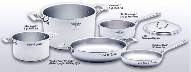 Culinary Center Pro Series Cookware