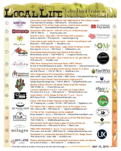 May Local Life activities in downtown Overland Park