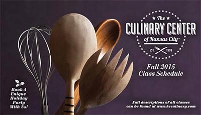 Culinary Center - Fall 2015 Catalog