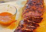 Mango BBQ Pork Loin