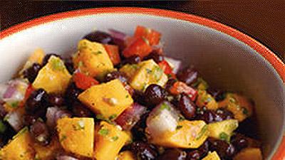 Papaya Black Bean Salsa