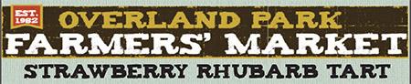 Overland Park Farmers Market - Strawberry Rhubarb Tart