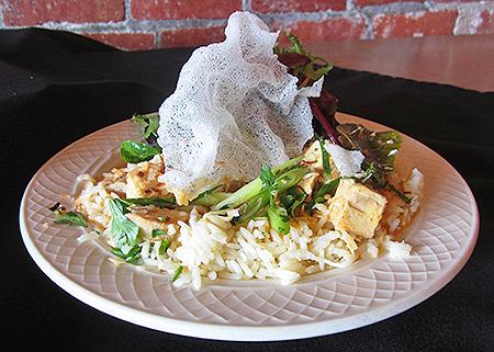 Thai Chicken on Coconut Rice