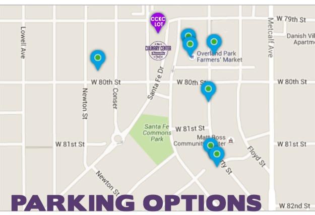 CCKC Parking Options
