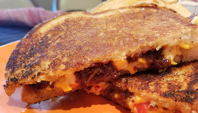 Bacon Jam & Pimienro Grilled Cheese