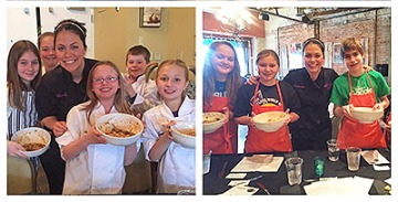 Junior Chefs Academy classes