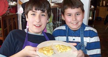 Junior Chefs Academy class