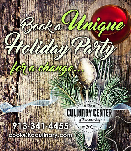 Book a Unique Holiday Party at The Culinary Center of Kansas City
