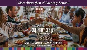CCKC Summer 2017 Class Schedule
