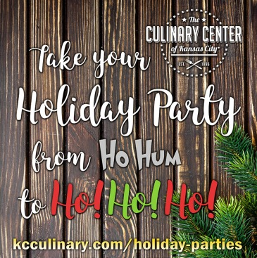 Holiday Parties @ The Culinary Center of Kansas City